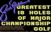 Cкриншот Jack Nicklaus' Greatest 18 Holes of Major Championship Golf, изображение № 736260 - RAWG