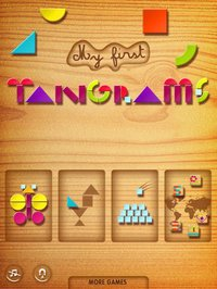 Cкриншот My First Tangrams for iPad - A Wood Tangram Puzzle Game for Kids - Perfect for Montessori method, изображение № 949331 - RAWG