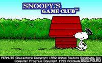Cкриншот Snoopy's Game Club, изображение № 339350 - RAWG