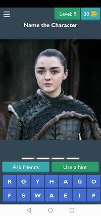 Cкриншот Game of Thrones Quiz, изображение № 2430683 - RAWG