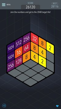 Cкриншот 2048 3D - Brain Training Game, изображение № 1706356 - RAWG