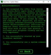 Cкриншот Hack Time, изображение № 641852 - RAWG