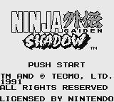 Cкриншот Ninja Gaiden Shadow, изображение № 751708 - RAWG