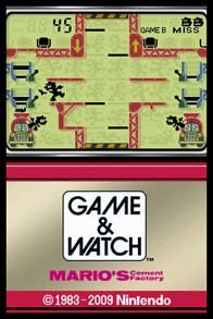 Game & Watch: Mario's Cement Factory screenshot, image №783404 - RAWG