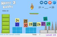 Cкриншот HarryRabby 2 Elementary Math - Missing number in a sequence, изображение № 1833119 - RAWG