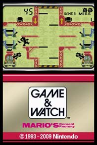 Game & Watch: Mario's Cement Factory screenshot, image №254390 - RAWG