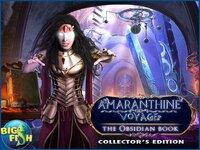 Cкриншот Amaranthine Voyage: The Obsidian Book - A Hidden Object Adventure (Full), изображение № 2778735 - RAWG