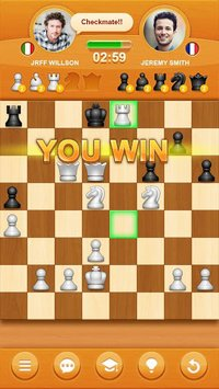 Cкриншот Шахматы онлайн, изображение № 1381543 - RAWG