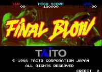 Final Blow screenshot, image №754956 - RAWG