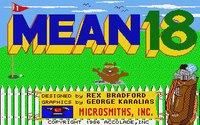 Cкриншот Mean 18, изображение № 741611 - RAWG