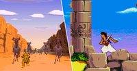 """Cкриншот «Классические игры Disney: """"Алладин"""" и """"Король Лев""""», изображение № 2182986 - RAWG"""