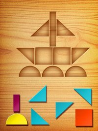 Cкриншот My First Tangrams for iPad - A Wood Tangram Puzzle Game for Kids - Perfect for Montessori method, изображение № 949330 - RAWG