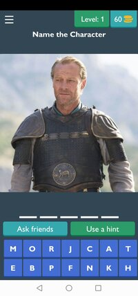 Cкриншот Game of Thrones Quiz, изображение № 2430682 - RAWG