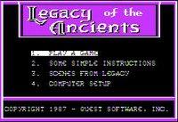 Cкриншот Legacy of the Ancients, изображение № 756001 - RAWG