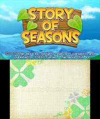 Cкриншот Story of Seasons, изображение № 264439 - RAWG