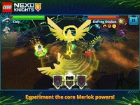 Cкриншот LEGO NEXO KNIGHTS: MERLOK 2.0, изображение № 1423652 - RAWG