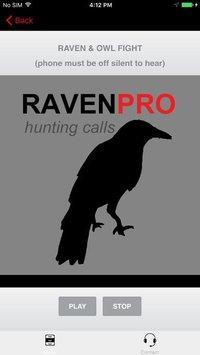 Cкриншот REAL Raven Hunting Calls - 7 REAL Raven CALLS & Raven Sounds! - Raven e-Caller - Ad Free - BLUETOOTH COMPATIBLE, изображение № 2066461 - RAWG