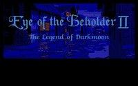 Cкриншот Eye of the Beholder II: The Legend of Darkmoon, изображение № 748340 - RAWG