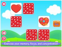 Cкриншот First Words Memory Cards Free by Tabbydo: Twinmatch learning game for Kids & Toddlers, изображение № 2177494 - RAWG