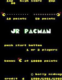 Jr. Pac-Man screenshot, image №726091 - RAWG