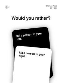 Cкриншот Would You Rather Dirty & Evil, изображение № 1795057 - RAWG