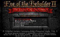Cкриншот Eye of the Beholder II: The Legend of Darkmoon, изображение № 748341 - RAWG
