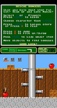 Cкриншот Chip 'n Dale Rescue Rangers, изображение № 735051 - RAWG
