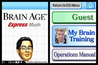 Cкриншот Brain Age Express: Math, изображение № 247461 - RAWG