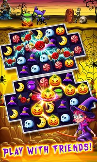 Cкриншот Halloween Witch Connect, изображение № 2178987 - RAWG