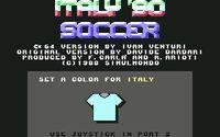 Italy '90 Soccer screenshot, image №748821 - RAWG