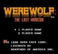 Cкриншот Werewolf: The Last Warrior, изображение № 738613 - RAWG