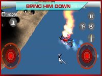 Cкриншот Flying Bike: Police vs Cops - Police Motorcycle Shooting Thief Chase PRO Game, изображение № 1729216 - RAWG
