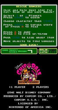 Cкриншот Chip 'n Dale Rescue Rangers, изображение № 735049 - RAWG