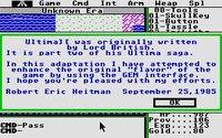 Cкриншот Ultima II: The Revenge of the Enchantress, изображение № 745824 - RAWG