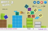 Cкриншот HarryRabby 2 Elementary Math - Missing number in a sequence, изображение № 1833122 - RAWG
