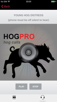 Cкриншот REAL Hog Calls - Hog Hunting Calls - Boar Calls, изображение № 1729296 - RAWG