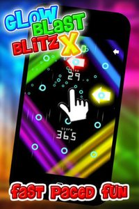 Cкриншот Glow Blast Blitz X - the free fast and furious training game for tap tap games, изображение № 1757862 - RAWG