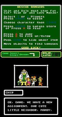 Cкриншот Chip 'n Dale Rescue Rangers, изображение № 735050 - RAWG