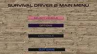 Survival driver 2: Heavy vehicles screenshot, image №647878 - RAWG