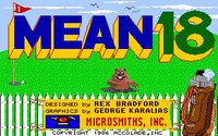 Cкриншот Mean 18, изображение № 741607 - RAWG