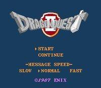 Cкриншот Dragon Quest II (1987), изображение № 735515 - RAWG