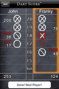 Cкриншот Dart Score, изображение № 1742342 - RAWG