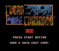 Cobra Command screenshot, image №735110 - RAWG