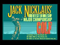 Cкриншот Jack Nicklaus' Greatest 18 Holes of Major Championship Golf, изображение № 736263 - RAWG