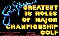 Cкриншот Jack Nicklaus' Greatest 18 Holes of Major Championship Golf, изображение № 736261 - RAWG