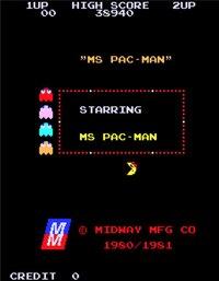 Cкриншот Pac-Man and Ms. Pac-Man (jrhollis), изображение № 2461043 - RAWG