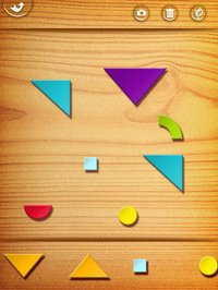Cкриншот My First Tangrams for iPad - A Wood Tangram Puzzle Game for Kids - Perfect for Montessori method, изображение № 949333 - RAWG