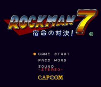 Cкриншот Mega Man 7 (1995), изображение № 762144 - RAWG