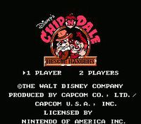 Cкриншот Chip 'n Dale Rescue Rangers, изображение № 735053 - RAWG