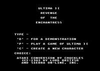 Cкриншот Ultima II: The Revenge of the Enchantress, изображение № 745823 - RAWG